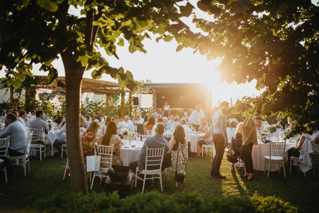 sunset at tuscany destination wedding venue